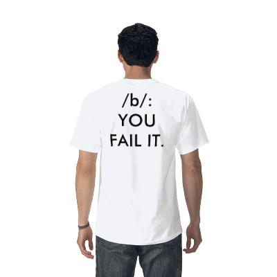 Whoever buys me a shirt that says this gets to plaster an ad on my blog for a week. BTW, I made this at Zazzle.com.